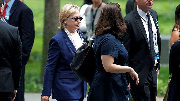 اصابة هيلاري كلينتون بالتهاب رئوي حاد