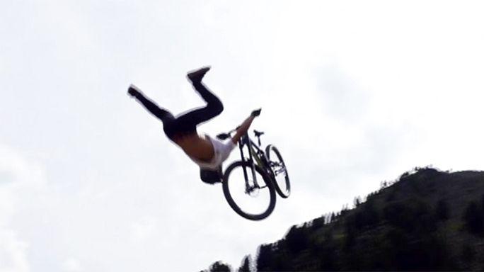 الاسباني أدولف سيلفا يفوز بسباق سوزوكي للدراجات الجبلية