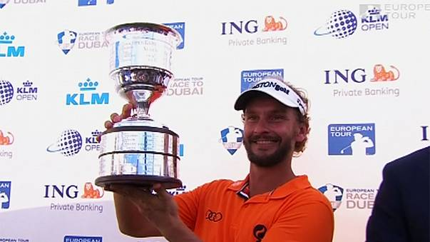 Joost Luiten storms to victory at the Dutch Open