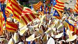 'We're almost there' - Catalans flood streets to renew call for independence