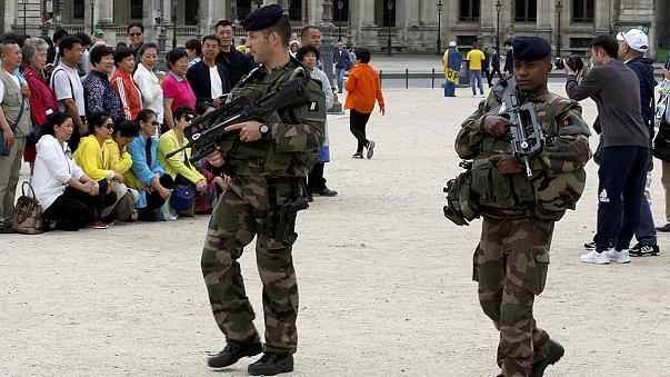 Schoolboy arrested in Paris on suspicion of planning 'imminent' attack