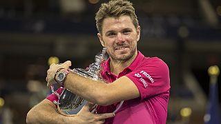 Wavrinka s'impose en finale de l'US Open face à Djokovic