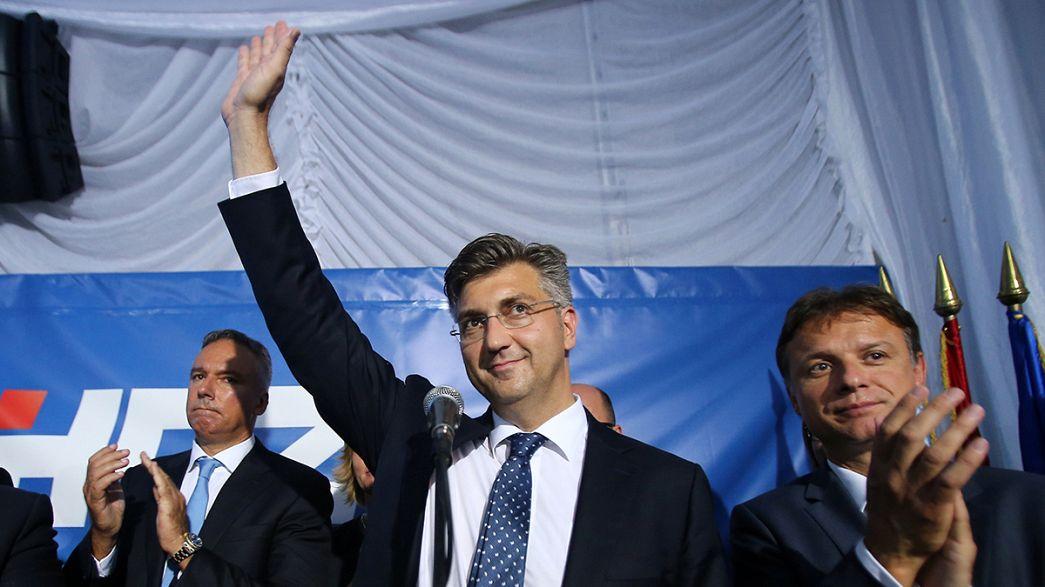 В Хорватии на выборах в парламент снова победили правоцентристы