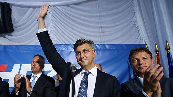 A konzervatívok szereztek több szavazatot Horvátországban