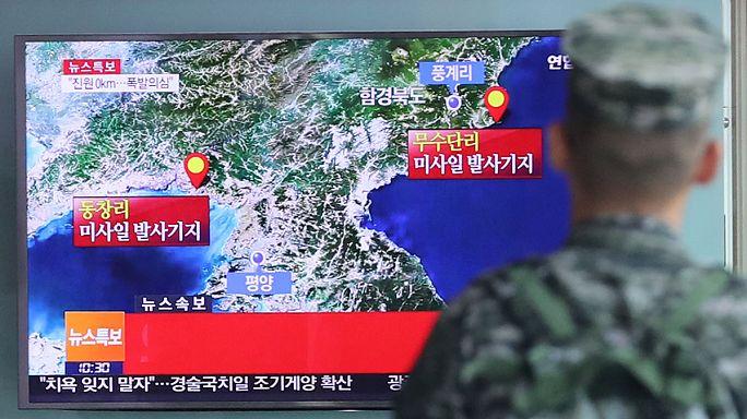 """ضغط دولي متصاعد لمواجهة """" تمرد """" كوريا الشمالية"""