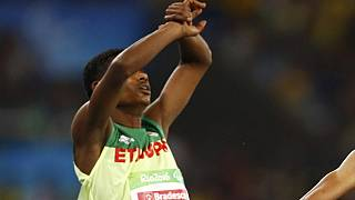 Ethiopian Paralympian wins silver, makes anti-government gesture