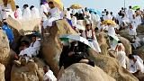 Saudi Arabia: Hajj pilgrims head to Mount Arafat