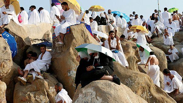 Arabia Saudita: pellegrini al Monte Arafat