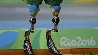 South Africa celebrates 14-year-old double amputee Paralympic medalist