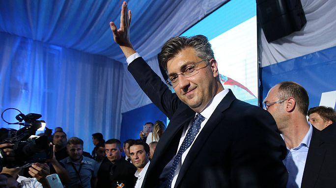 حكومة تحالف وطني بقيادة الاتحاد الديمقراطي في كرواتيا