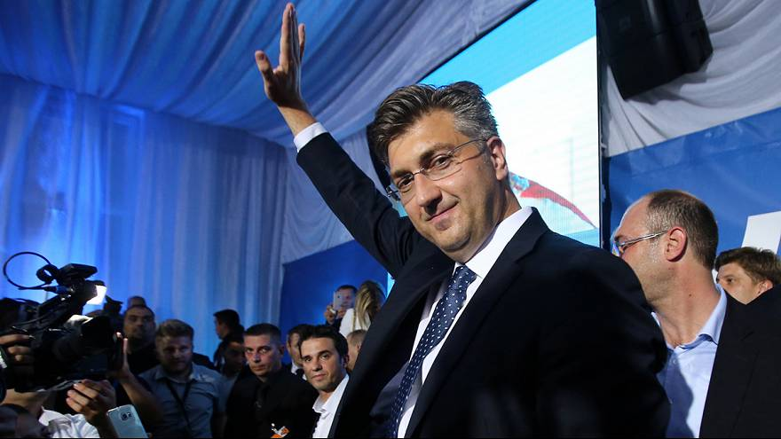 Croatia's centre-right HDZ unexpectedly wins snap election