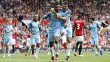 Guardiola draws first blood in Manchester derby
