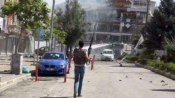 انفجار در شهر وان ترکیه دهها زخمی به جا گذاشت