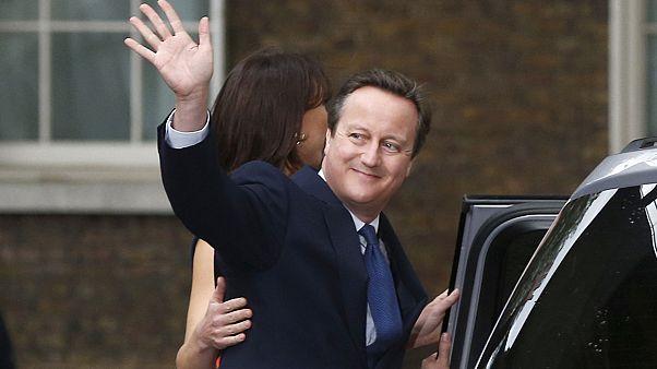 Cameron deixa parlamento Britânico