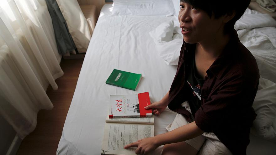 """Chinese student sues over books that call homosexuality a """"disorder"""""""
