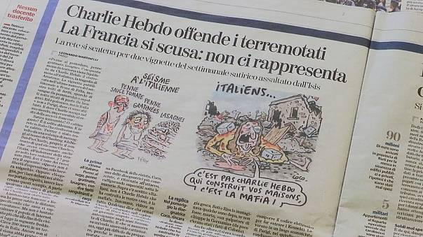 Nach Erdbeben-Karikatur: Amatrice verklagt Charlie Hebdo