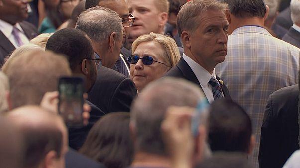 Clintons Gesundheit wird Wahlkampfthema