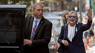 Hillary Clinton says she is doing well