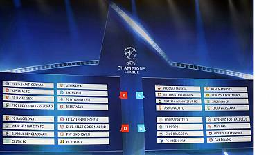 Football : reprise de la ligue des champions