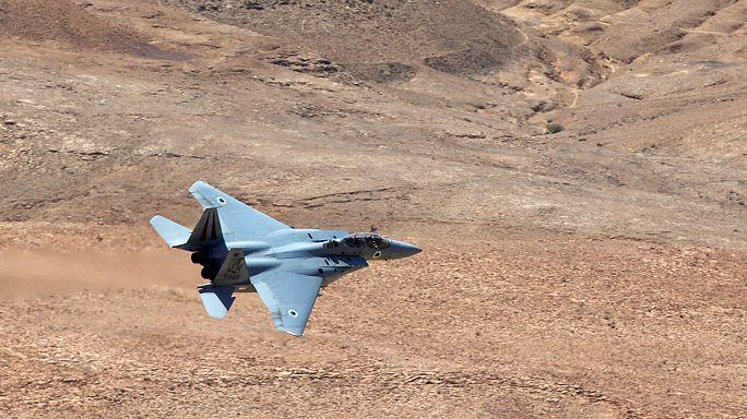 Suriye ordusu İsrail jetini düşürdüğünü açıkladı