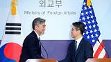 Bombardieri USA sorvolano la Corea del Sud