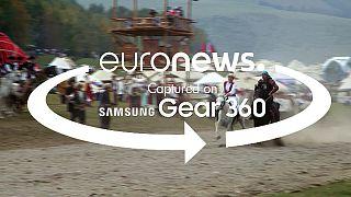 [video 360°] A euronews leva-o para um universo nómada