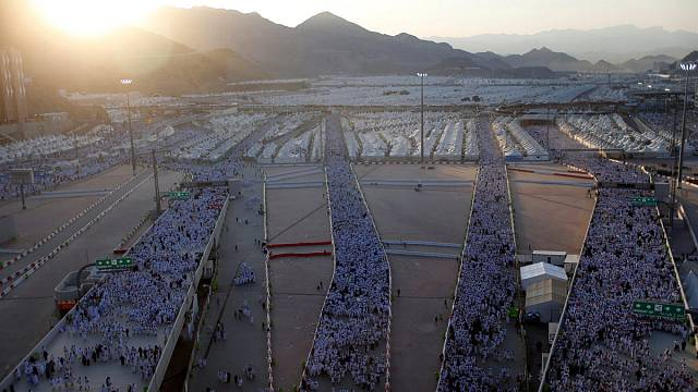 Bisher alles ruhig beim Hadsch in Saudi-Arabien
