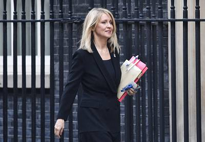 Esther McVey was another British ministerial resignation on Thursday.