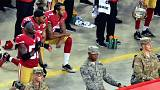 Kaepernick racial injustice protests divide US opinion