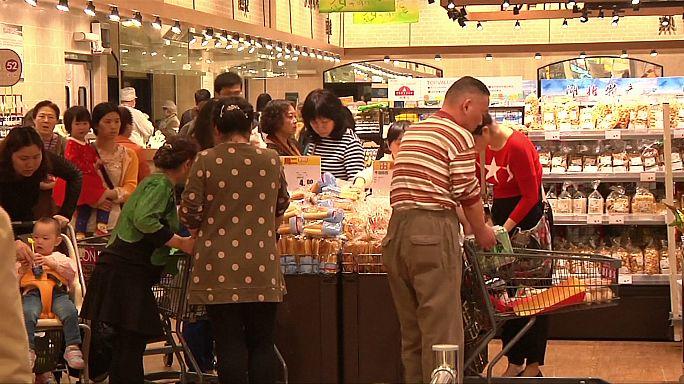 Economia chinesa em crescimento