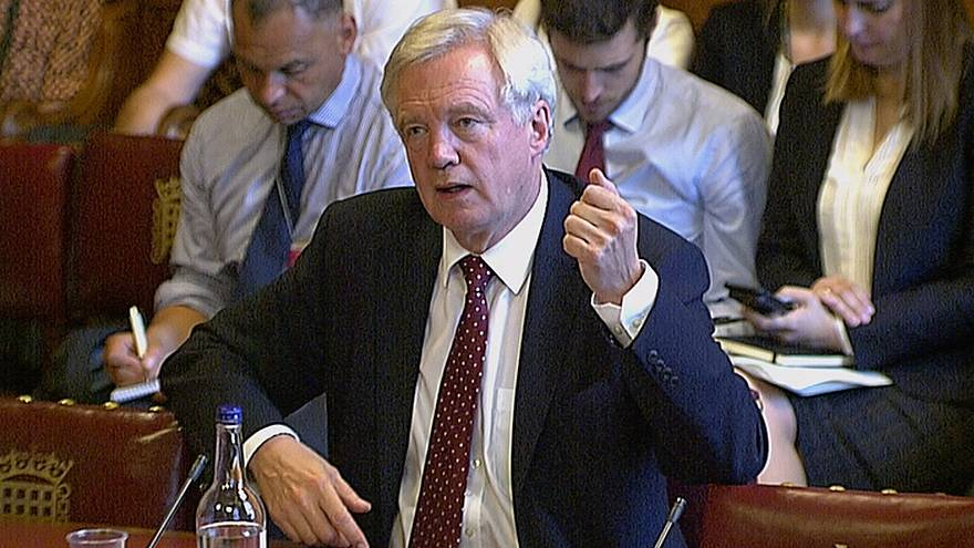 UK Brexit minister says legislation may be needed