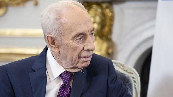 """Shimon Peres colpito da un ictus: """"Condizioni serie"""""""