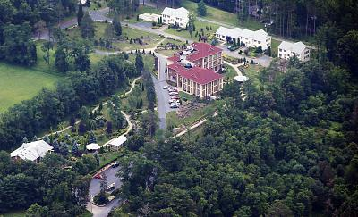 The Golden Generation Worship and Retreat Center in rural Saylorsburg, Pennsylvania on July 9, 2013. The private compound is where Fethullah Gulen, an influential Islamist cleric, has lived for more than a decade.