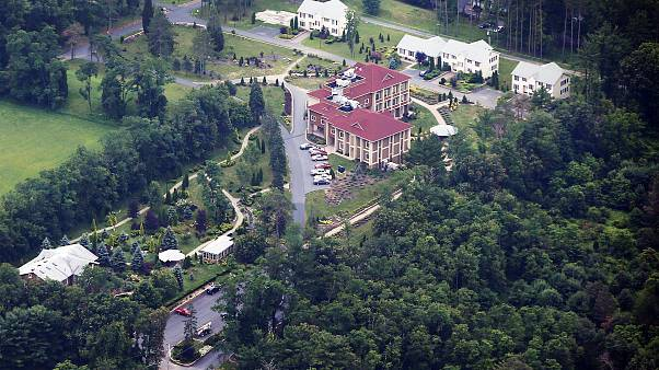 Image: An aerial view of the Golden Generation Worship and Retreat Center i