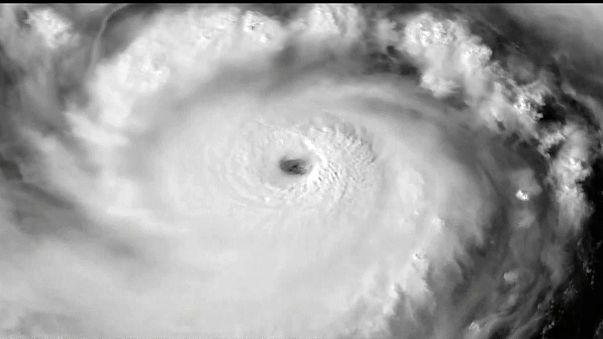 Super tifone Meranti in arrivo sulle coste Sud di Taiwan