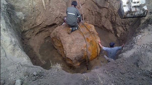 'Giant meteorite' unearthed in northern Argentina