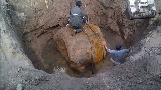 Arjantin'de 30 tonluk meteor bulundu