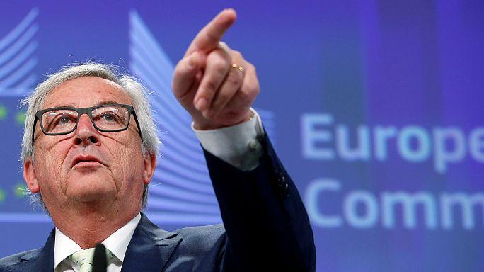 Jean-Claude Juncker évértékelője élőben, az Euronews-on.