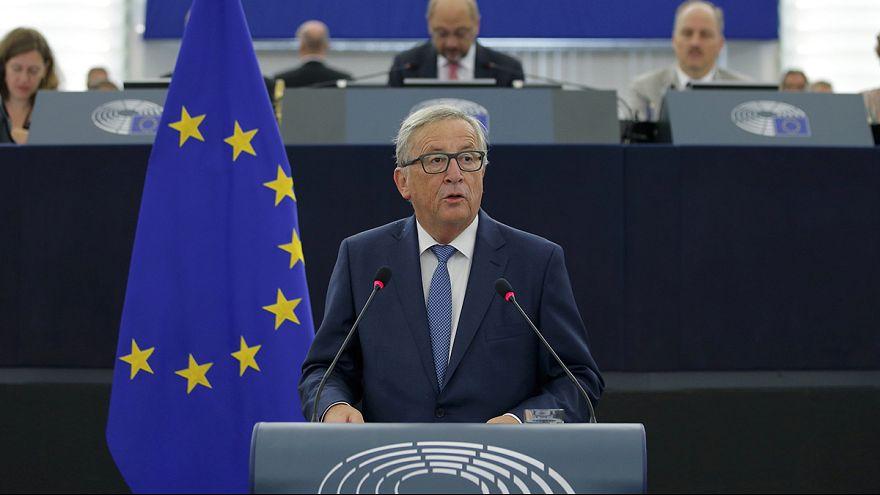 AB Komisyonu Başkanı yıllık konuşmasını yaptı