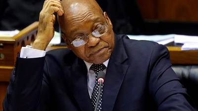 South Africa: Zuma decries abuse from opposition parties