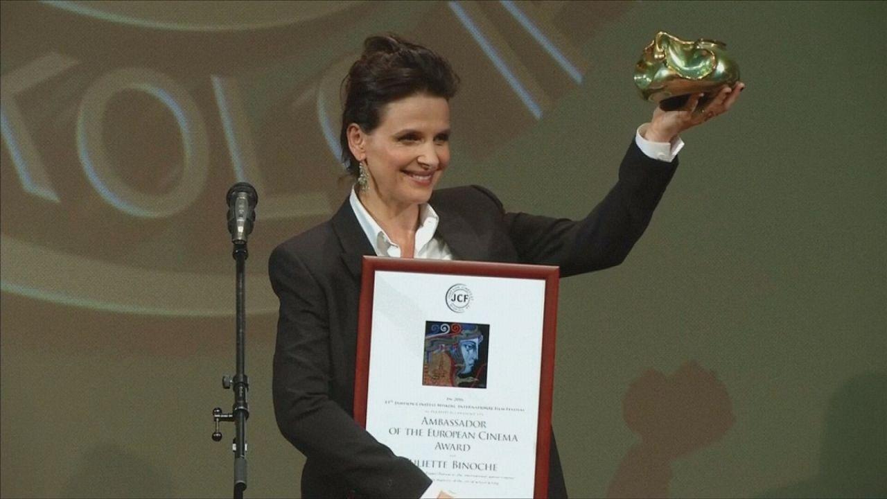 Hungria: Juliette Binoche recebe Prémio Europa no CineFest