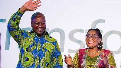 John Mahama promises to relaunch Ghana's economy