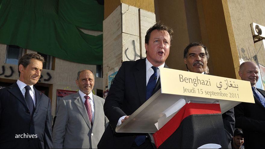 Un informe parlamentario critica a Cameron por la operación militar para derrocar a Gadafi