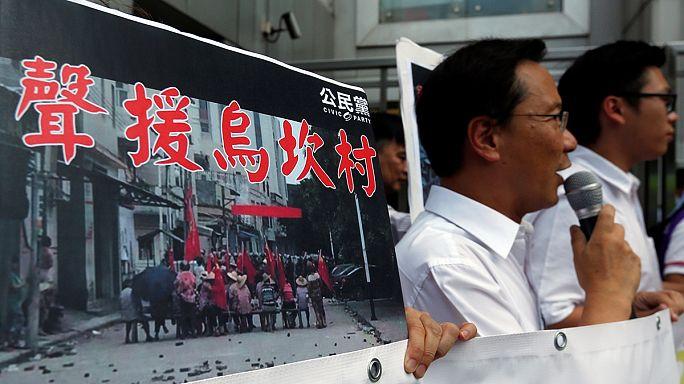 Brutálisan szétvertek a rendőrök egy tüntetést Kínában