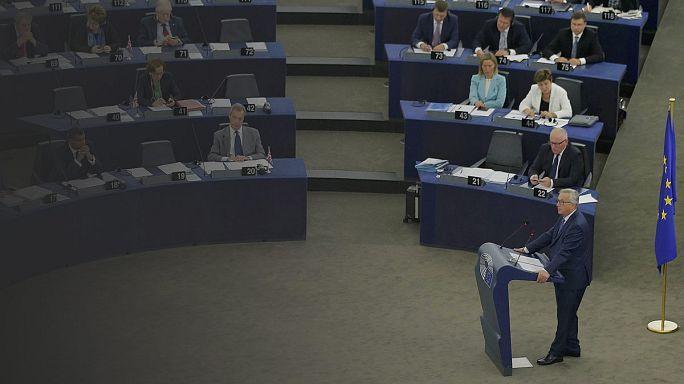 Une Europe unie et utile, l'objectif de Juncker