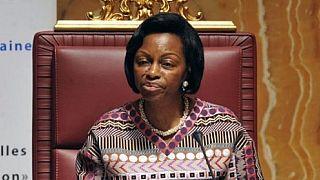 """Marie-Madeleine Mborantsuo, """"l'homme"""" le plus puissant du Gabon"""