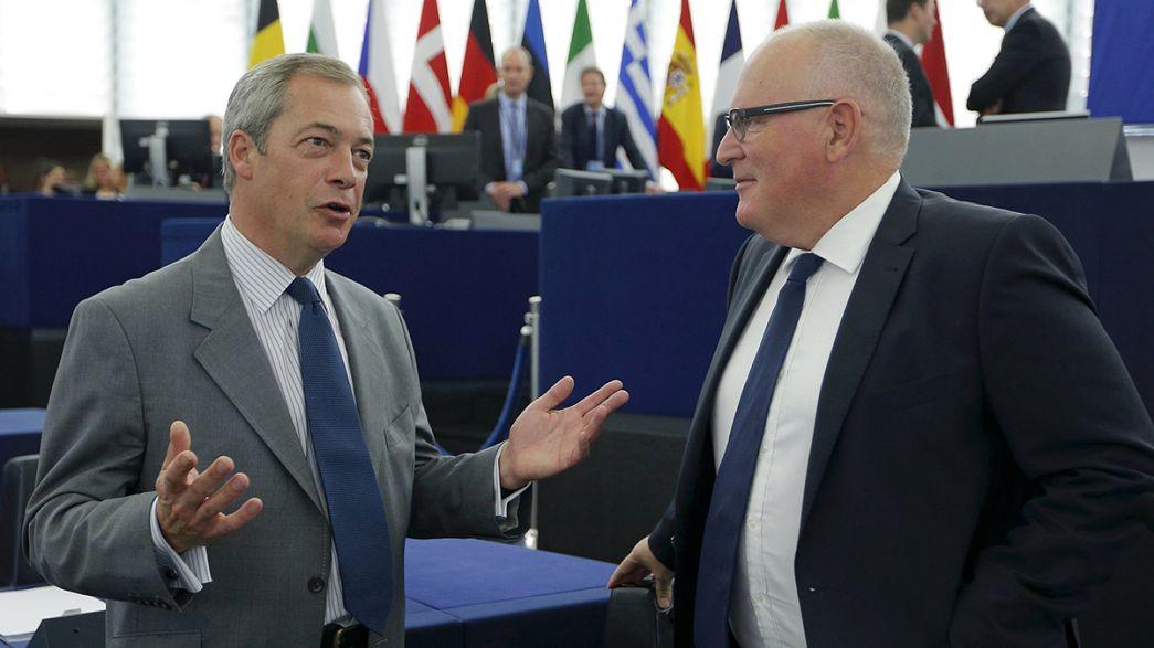 """Farage replica a Juncker: """"L'Ue non ha appreso la lezione della Brexit"""""""