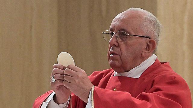 "Papa Francis: ""Tanrı adına öldürmek şeytan işidir"""