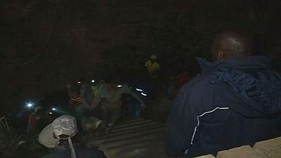 Afrique du Sud : deux corps sortis de la mine de Langlaagte