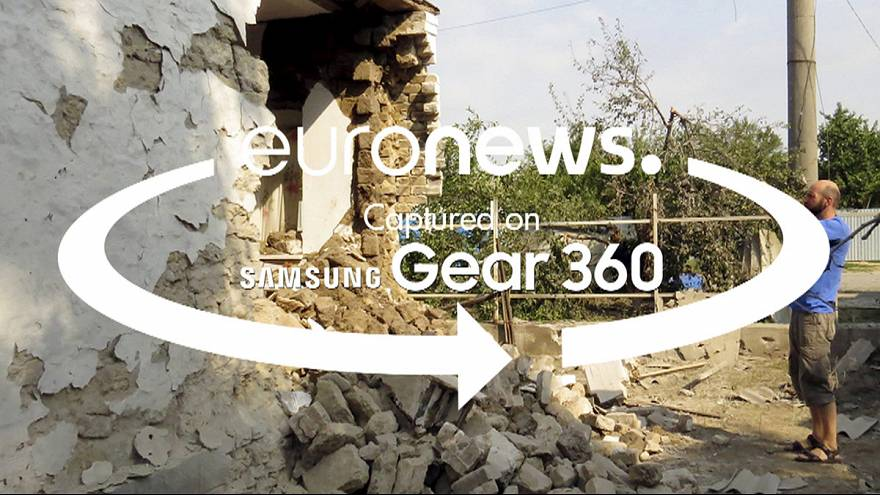 360 video: Experience life next to the contact line in Eastern Ukraine